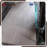 Placage naturel 3 mm Placage en chêne rouge / teck / cendres pour la peau de porte