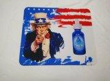 Heiße verkaufende Antibeleg-Gummimäusematte mit kundenspezifischem Drucken