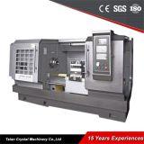 Машина Lathe CNC Китая Lathe металла сверхмощная (CK6163E)