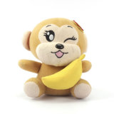 Custom Jungle Animal Soft Toy Stuffed Plush Monkey para atacado