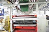 Serie-einzelner Plandreher-örtlich festgelegte gewölbte Karton-Maschine