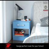 表の側の子供の寝室の家具の現代青く標準的な木