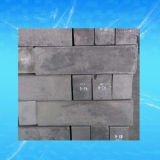 Bloc de graphite isotrope moulé extrudé vibrante