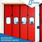 Дверь гаража подземки промышленная складывая/дверь складчатости пакгауза