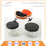 Vakuumdichtungs-Glas-Glas für das Kaviar-Einmachen