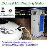 carregador rápido de 3phase 380VAC 50kw para o veículo eléctrico