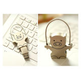 Netter fördernder Geschenk-Metall-USBPendrive kreativer USB