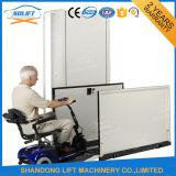 يعجز عقبة كرسيّ ذو عجلات مصعد