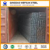 Faisceau en acier doux de l'acier U de Ss400 6m