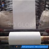 Polypropylene branco saco 60GSM tecido no rolo