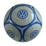 PVC imprimé coloré Machine-Cousu Soccerball en cuir de la jeunesse