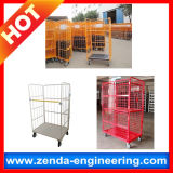 Estantería de secado plegable del metal/paleta de acero/paleta de la jaula