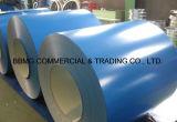 ASTM A653 Z150 PPGI Prepainted катушка покрынная цветом стальная/катушка стали PPGI Ral 1024 Ochre желтая Prepainted