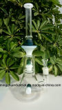tubulações de água de vidro das cores misturadas grossas de 5mm com Showerhead Perc
