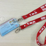 Card Holder를 가진 면 Customized Lanyard