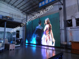 Visualización de LED publicitaria a todo color del precio barato montado en la pared de acceso frontal ultra fino del alto brillo de F5s Skymax