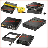 4CH 8 Channel en Vehicle DVR con GPS Tracking Support Hard Drive