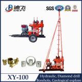 Máquina usada pequena móvel do equipamento Drilling de amostragem de núcleo (XY-100)