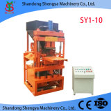 디젤 엔진 Concrete Hollow Block Making Machine 또는 Brick Making Machine Qt4-40