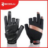 Nicht imprägniern Beleg-Fischerei-Gerät 3 Hälfte-Finger Fischen-Handschuhe