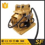 Peças da construção da placa do compressor para a consolidação da placa da máquina escavadora