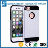 Caixa nova 6 do telefone de pilha do cetim da escova para o iPhone 7 /7 mais