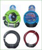 5つのディジットの多彩なバイクのダイヤル錠(BL-033)