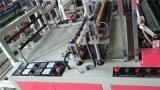 Volledig-automatische heet-Verzegelt dubbel-Lijn & koud-Snijdt de Zak die van de T-shirt Machine maakt