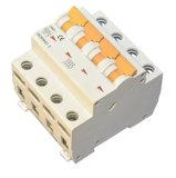 10A aan de Elektrische Breker Tweepolige 600V-1000V gelijkstroom MCB van 63 AMPÈRE