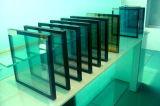 Baixo-e vidro isolado da vitrificação dobro com frame de alumínio