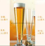 Taza de cristal de la alta capacidad y de la taza de cerveza de la calidad con vario estilo