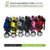 Lightweight de lujo Foldable Electric Wheelchair para Rehabilitation Therapy