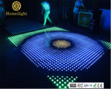 P10 acrílico impermeável RGB Dança painéis LED Video Dance Floor para banquete de casamento Stage Display