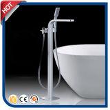 Faucet de banheira superior do carrinho do assoalho da qualidade dos mercadorias sanitários para o banheiro