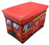 De mooie Kruk van de Opslag van de Reeks van het Ontwerp van de Bus van Jonge geitjes met de Capaciteit van het Gewicht 80kgs