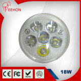 Buon Replacement di HID Lamp, 18 Watt Round LED Work