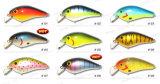 Attrait supérieur de pêche d'amorce de manivelle en bois de balsa d'attirail de pêche de catégorie (HYT002)