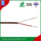 Alambre y cable de encargo con el PVC aislado (o Teflon, o fibra de vidrio, etc.) para el uso especial