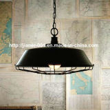 Antique Black에 있는 금속 Simple Hanging Pendant Lamp Lighting