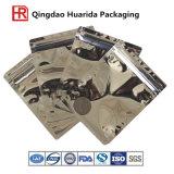 Hochtemperatur widerstehen Aluminiumfolie-Verpacken- der Lebensmittelbeutel mit Reißverschluss