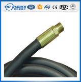En857 2sc Stahldraht-umsponnener hydraulischer Gummischlauch