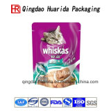 Bolso lateral del lacre 3 para el bolso del envasado de alimentos de animal doméstico