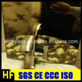 hoja de cristal del espejo antiguo de 3-5m m/hoja decorativa del espejo