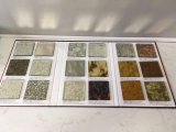 浴室の装飾のSplashbackミラーガラスバロック式様式ミラーガラスはミラーによってエッチングされるミラーを模造する