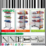 Store Fixture Wire Grid Snack Display Racks