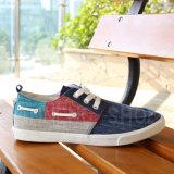 Zapatos de lona de goma ocasionales de Outsole Snc-02088