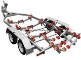 Remorques à moteur galvanisé à chaud lourd avec 2 essieux 4 roues