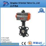 Válvula de atuadores pneumáticos/de borboleta controle pneumático