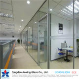 Clear Tempered/Toughened Glass for Building/Window/Door with Hole