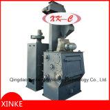 Type de dégringolade machine de grenaillage avec la courroie en caoutchouc pour des dispositifs de fixation et des matériels